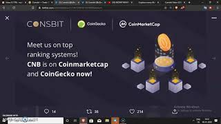 Coinsbit Exchange || CNB new Updates Price,Coin Market Cap