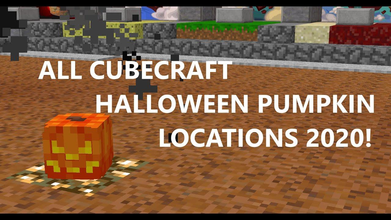Cubecraft Halloween Hunt 2020 ALL CUBECRAFT HALLOWEEN PUMPKIN LOCATIONS 2020! JAVA   YouTube