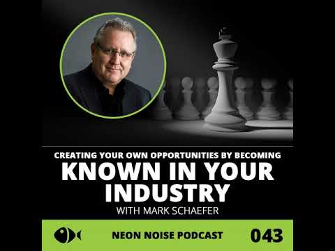 E43: Creating Your Own Opportunities by Becoming Known in Your Industry with Mark Schaefer