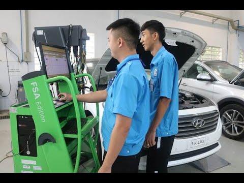 Đào tạo nghề Công nghệ ô tô tại Trường Cao Đẳng Việt Nam – Hàn Quốc Bình Dương