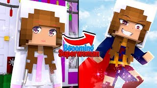 BABY ELLIE BECOMES..... SUPERWOMAN !!!| Minecraft w/ Little Kelly (Custom Roleplay)