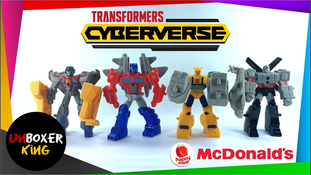 2019 Transformers Cyberverse Mcdonald S Happy Meal