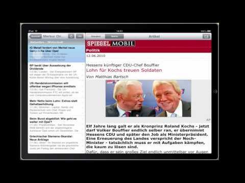 getNews Demo (Deutsche Version)