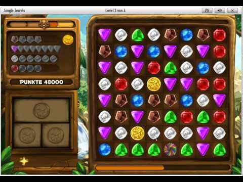 Jungle Jewels (Gameduell) 125.000 Highscore Tricks Facebook