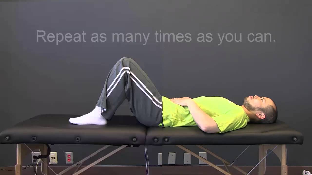 Exercises for Low Back Pain caused by Facet Joints, by Dr. Mike Hsu