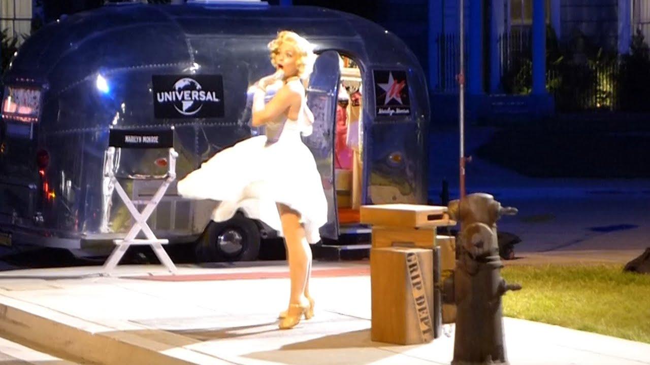 Marilyn Monroe - NEW NightTime Studio Tour 2015 at ...