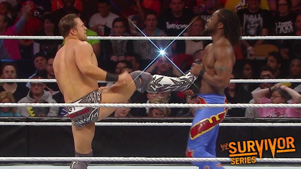 Kofi Kingston vs. The Miz: Survivor Series 2013 Kickoff - YouTube