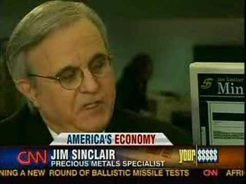 Jim Sinclair on CNN Your Money