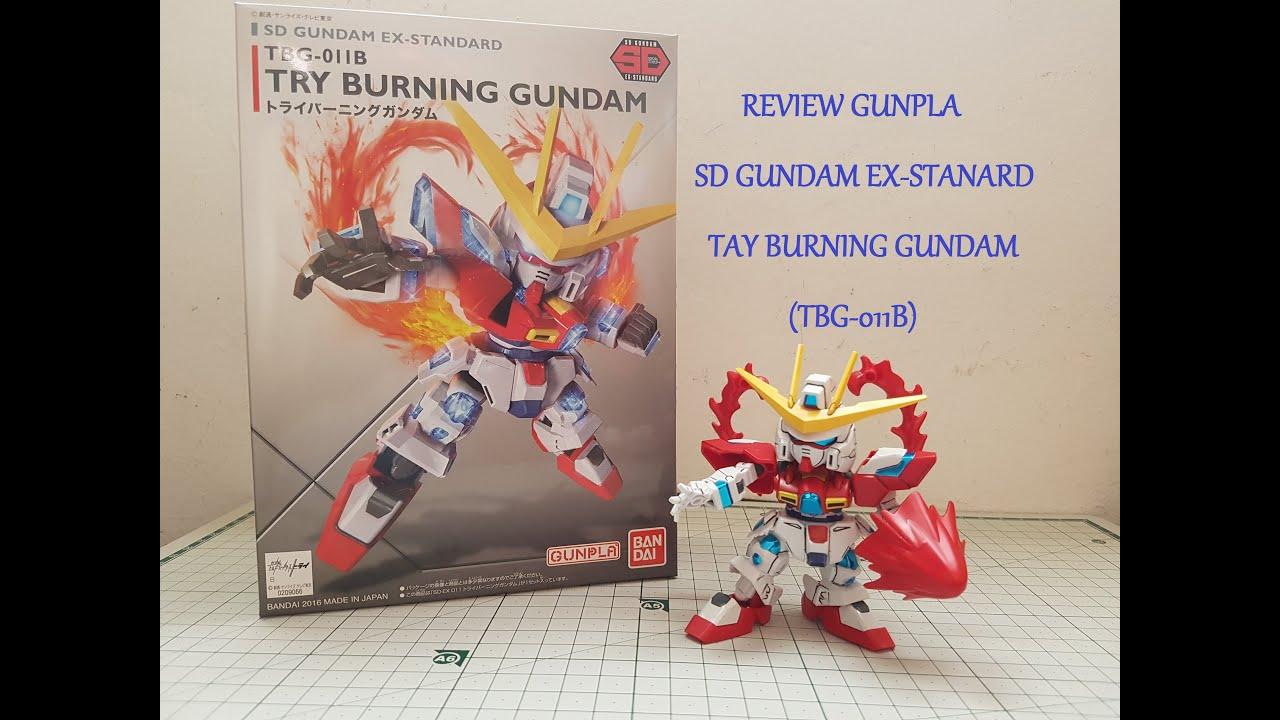 SD EX-Standard Try Burning Gundam Gundam Bandai