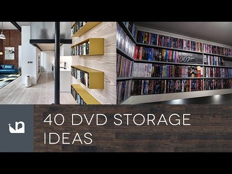 40 DVD Storage Ideas