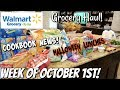 GROCERY HAUL & MEAL PLAN | WALMART | FAMILY OF 4 | 10/1/18