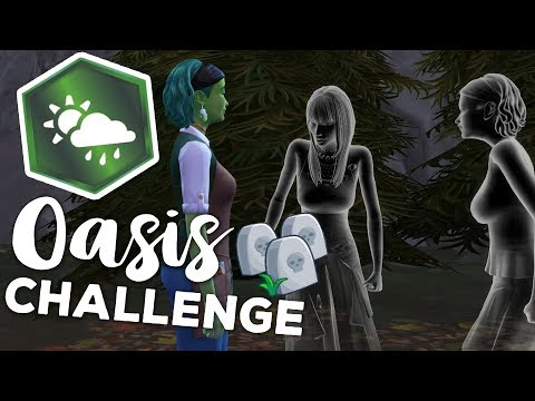 Mysteries Of The Dark Forest Hike!! 🍂⛄ SIMS 4: SEASONS • OASIS CHALLENGE • #20