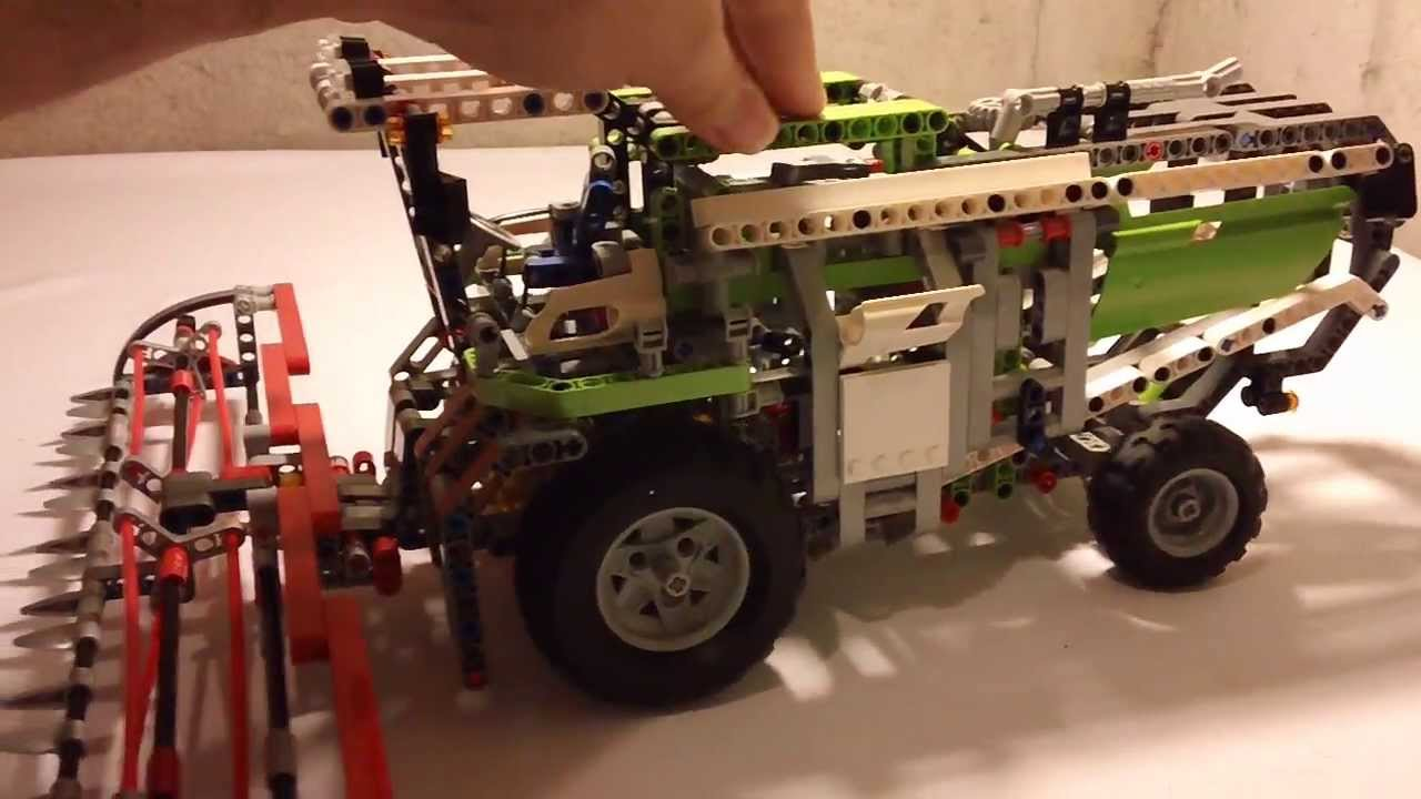 Rørig HD] LEGO Technic 8274 Combine Harvester Review - YouTube IC-14