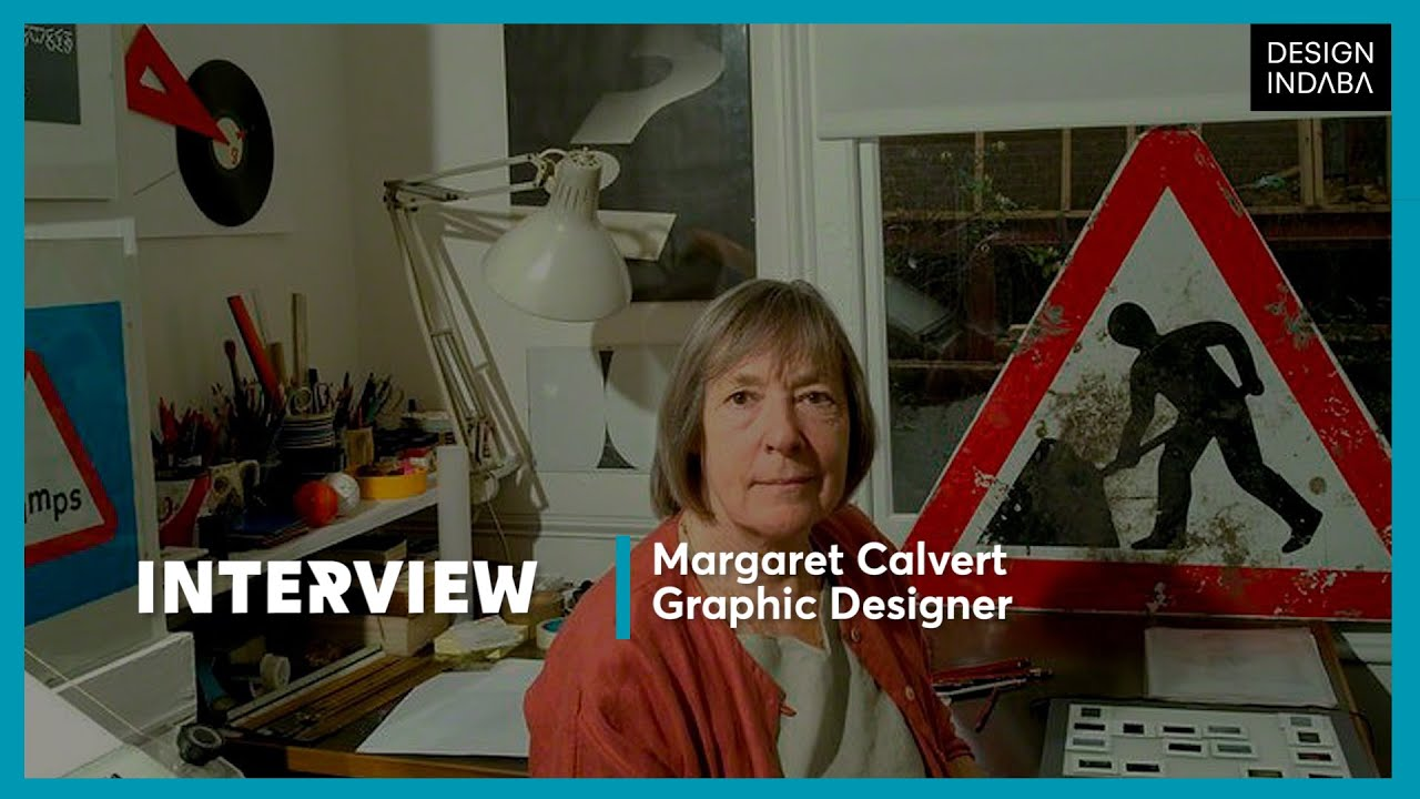Margaret Calvert: It's about knowing who you are designing for
