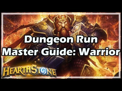 [Hearthstone] Dungeon Run Master Guide: Warrior