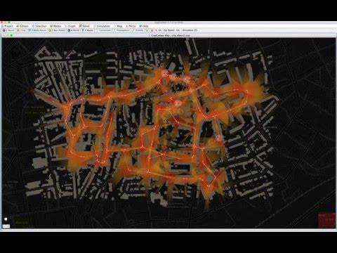 WSN & Smart-City & Visibility: CupCarbon (ANR PERSEPTEUR)