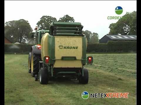 Crop Packaging Netexxtreme Krone Comprima F155XC / Cordexagri