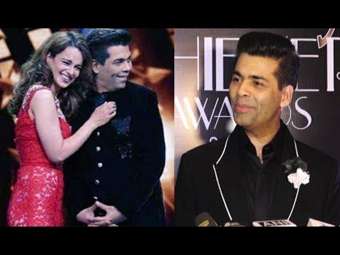 Karan Johar Patch Up With Kangana Ranaut In India's Next Superstar
