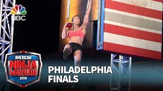 Allyssa Beird at the Philadelphia Finals - American Ninja Warrior 2016