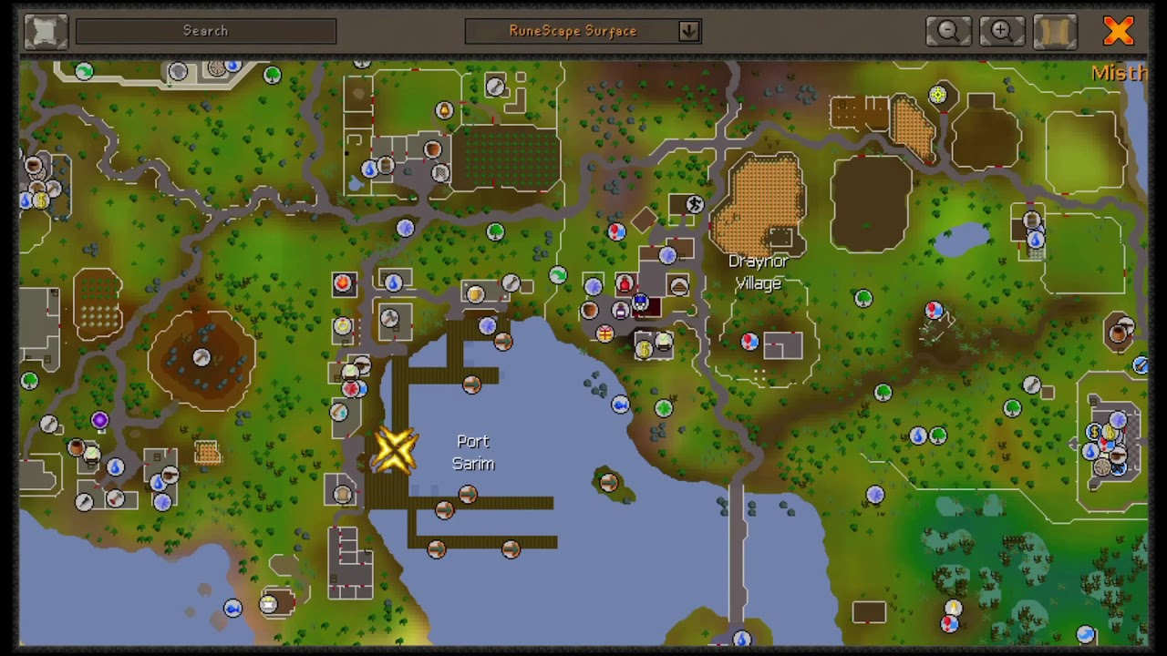 How to get to lobster fishing spot | OSRS F2P Karamja fishing guide