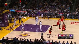 4th Quarter, One Box Video: Los Angeles Lakers vs. Atlanta Hawks