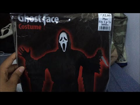 Scream Ghostface Costume Review + Halloween City Walkthrough