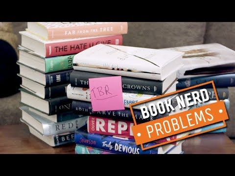 Too Many Different TBR Lists | Book Nerd Problems