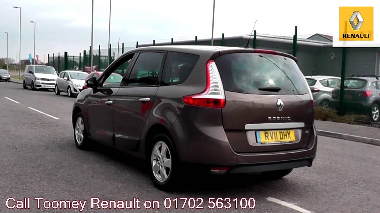 2011 Renault Grand Scenic Dynamique Tom Tom 1.5l Mocha ...