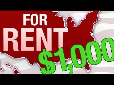 What $1,000 In Rent Gets You In 12 U.S. Cities