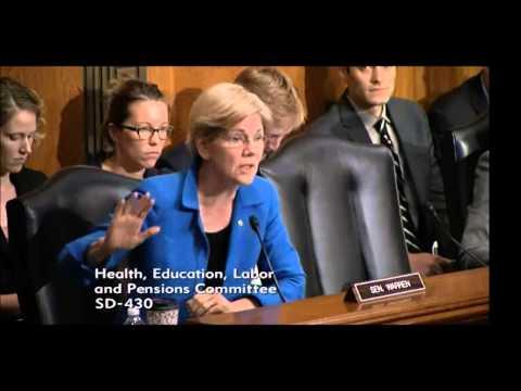 Senator Elizabeth Warren - College Affordability