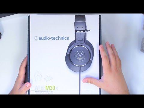 Unboxing: Audio Technica ATH M30x