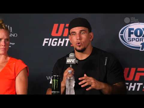 UFC Fight Night San Diego post-fight press conference archive