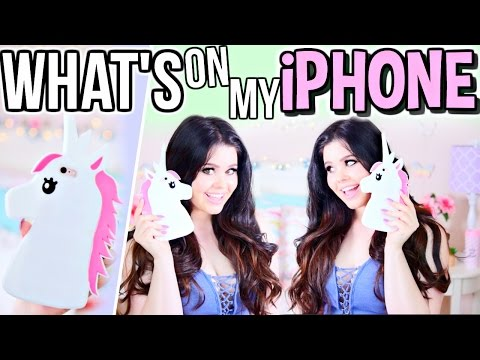 What's on my IPhone 6s Plus Rose Gold (UNICORN) 2016?!