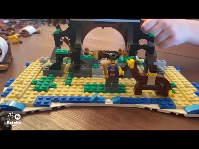 Skull Island Lego Build for Kids - Set 31109