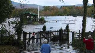 Keswick Camping & Caravan Site floods 2008