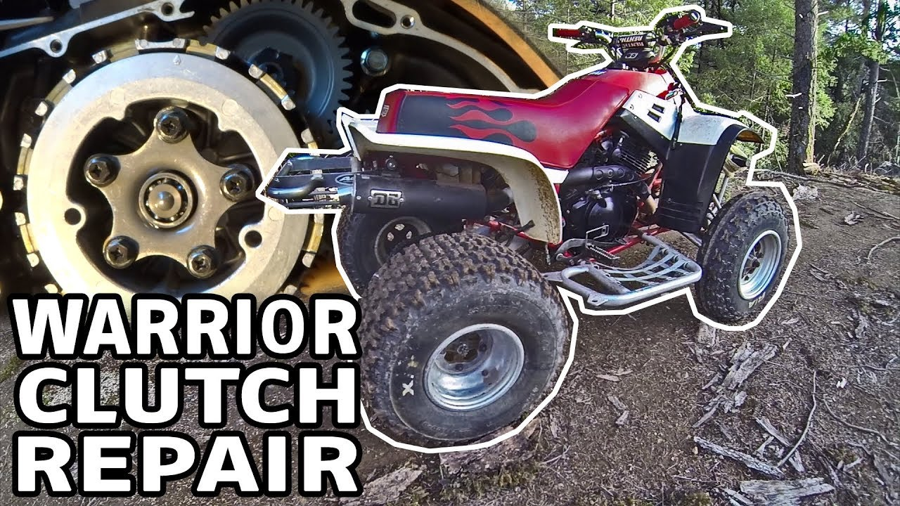 yamaha warrior atv clutch replacement how to install a repair kit [ 1280 x 720 Pixel ]