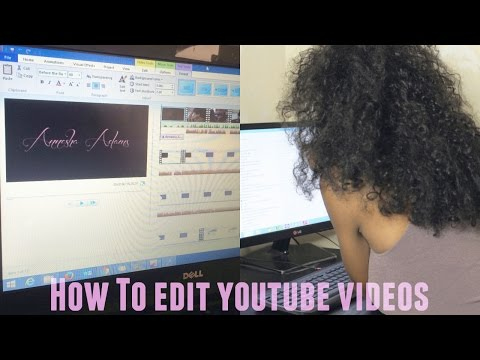 How to edit Youtube Videos with Windows Live Movie Maker | Annesha Adams