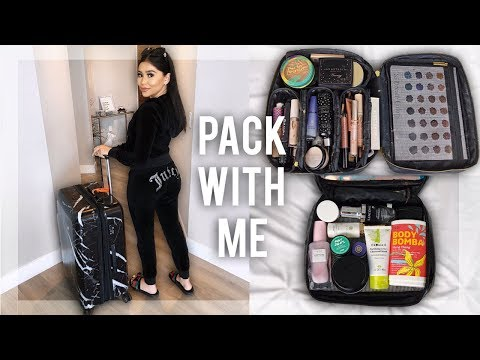 MAKEUP TRAVEL ESSENTIALS YOU NEED!! ✈️