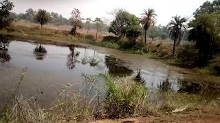 Garposh to Bamra by road scene
