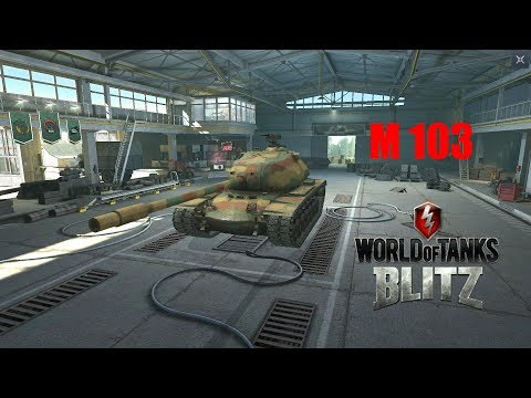 M103 - World of Tanks Blitz thumbnail