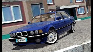 City Car Driving 1.5.5 - BMW 735i E32 1994   Day Drive   + Download [LINK]   1080p & G27