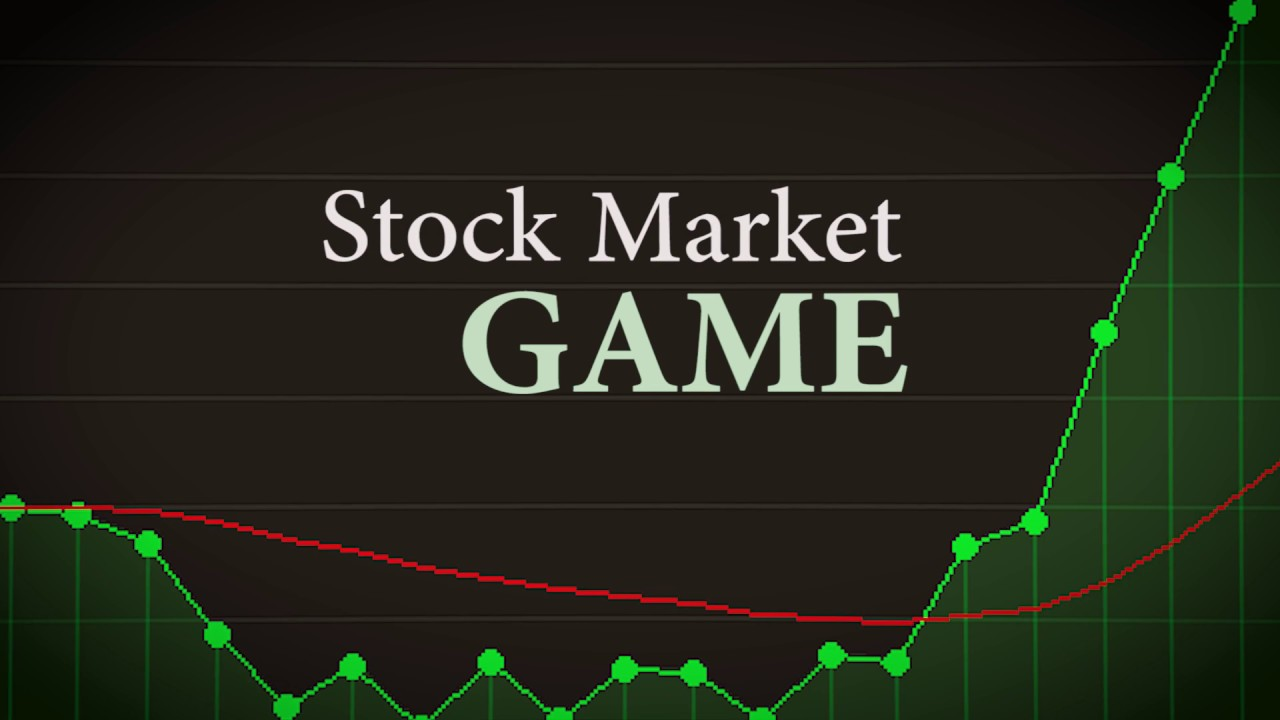 Stock options simulator game