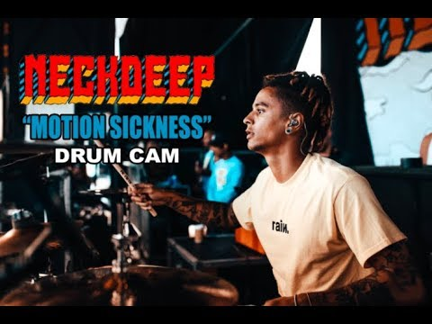 Neck Deep | Motion Sickness | Drum Cam (LIVE) Mp3