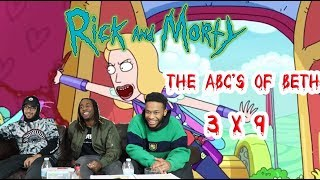 """Rick And Morty Season 3 Episode 9 """"The ABC'S Of Beth"""" Reaction/Review"""