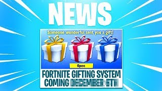 Fortnite Gifting System Release Date - When Is The Gifting System Coming To Fortnite? (Release Date)