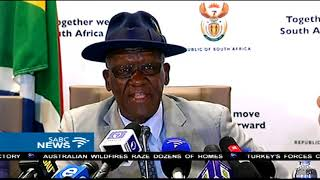Ministers Cele, Gigaba and Masutha on a joint anti-corruption drive