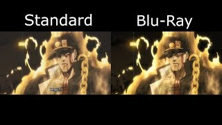DIO's death-Blu Ray comparaison (Stardust Crusaders Egypt Arc)