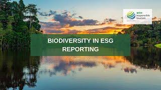 Biodiversity in ESG reporting