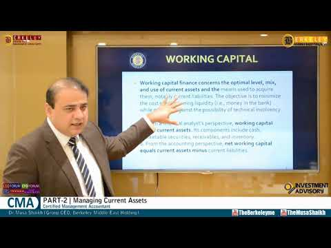 CMA Part 2 | Managing Current Assets