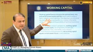 CMA Part 2 | Managing Current Assets